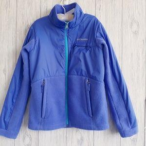 Columbia  Zip Up Fleece Jacket Size Medium 10-12
